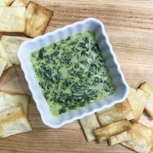 stovetop spinach dip