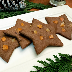 gingerbread star cookies