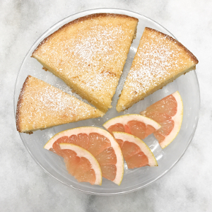 Elderflower Grapefruit Cake