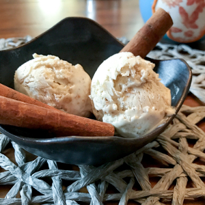 Tequila Vanilla Ice Cream