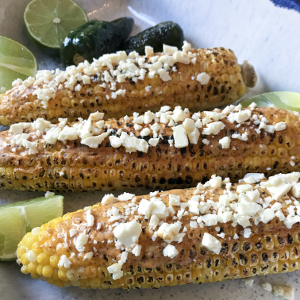 Mexican Corn with Chili Butter